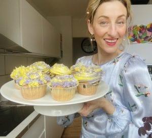 Blåbærmuffins med frosting Annemette Voss